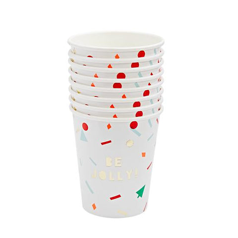 Vasos Be Jolly! / 8uds.