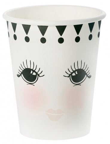 Vasos Eyes & Dots / 8 uds.