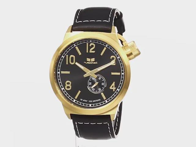 Vestal, specialty, canteen, premium watch, vestal canteen gold, leather