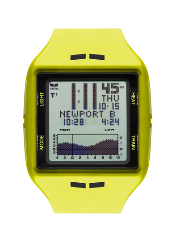 vestal, fishing, tide, train, surf, brig watch yellow