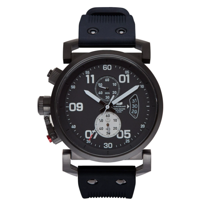 Vestal, specialty, premium watch, black, observer vestal watch