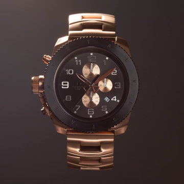 Vestal, specialty, premium watch, rose gold, restrictor. vestal watch