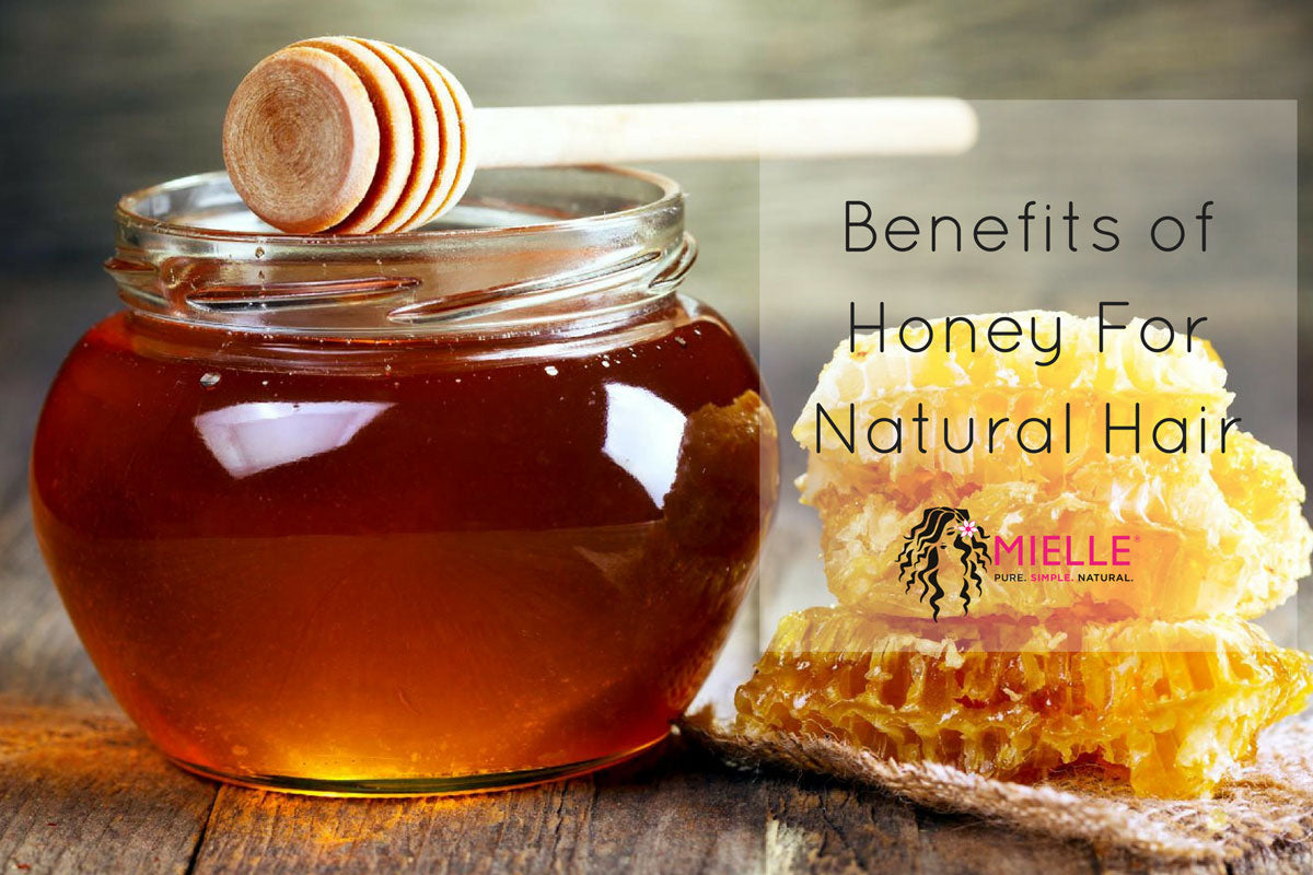 hair care tips: benefits of honey for natural hair - mielle
