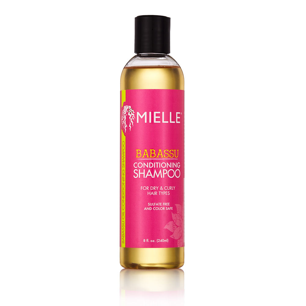 Sulfate-Free Shampoo - Gentle Cleansing With Moisturizing Babassu Oil |  Mielle Organics - MIELLE