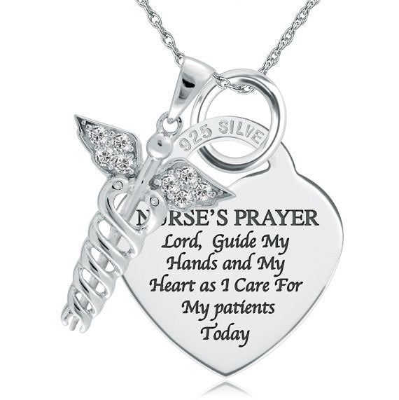 Nurse's Prayer Necklace