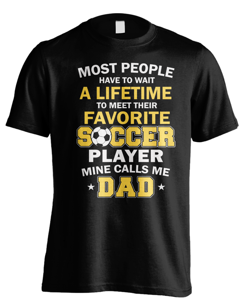 Favorite Soccer Player - Dad