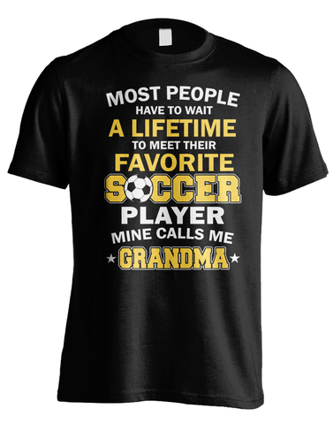 Favorite Soccer Player - Grandma