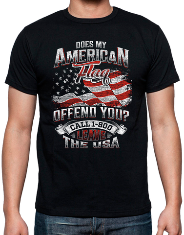 Does My Flag Offend You - USA