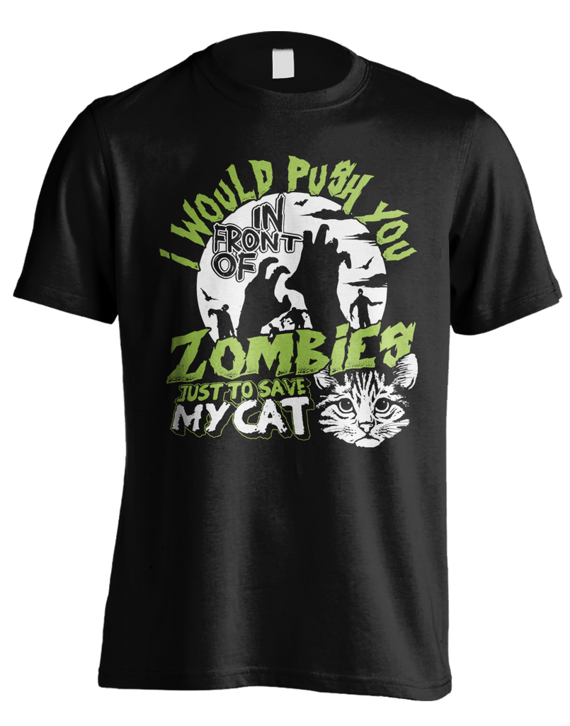Push You In Front Of Zombies - Cat