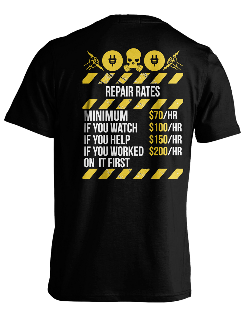 Electrical Repair Rates