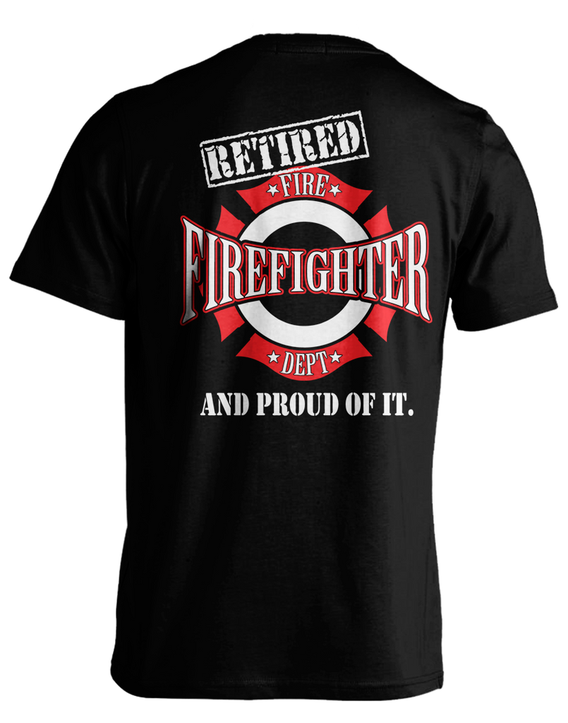 Proud Retired Firefighter
