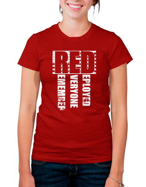 Red friday support our troops teecub for Red support our troops shirts