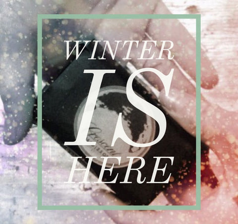 Winter is here - Organic Solid Lotion Bar Giveaway
