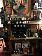 keven craft ritual eugene oregon witch shop metaphyscial store skincare handmade alchemy asatru pagan northern gifts handmade