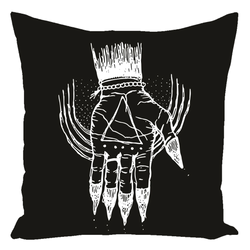 "Hand of the Occult Pillows 16"" x 16"""