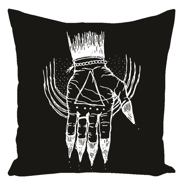 "Hand of the Occult Pillows 16"" x 16"" - Keven Craft Rituals"