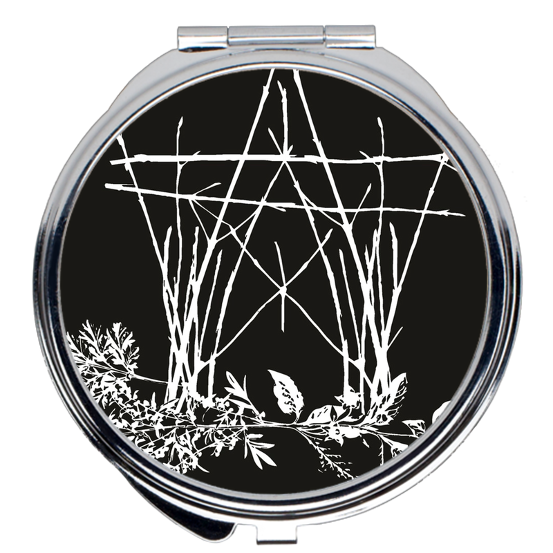The House of Twigs Compact Mirrors - Keven Craft Rituals