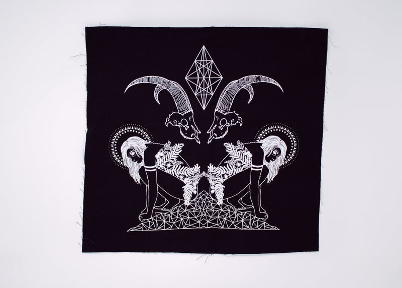 Witch Mountain Back Patch