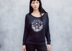Moth and Flame Batwing Women's Shirt