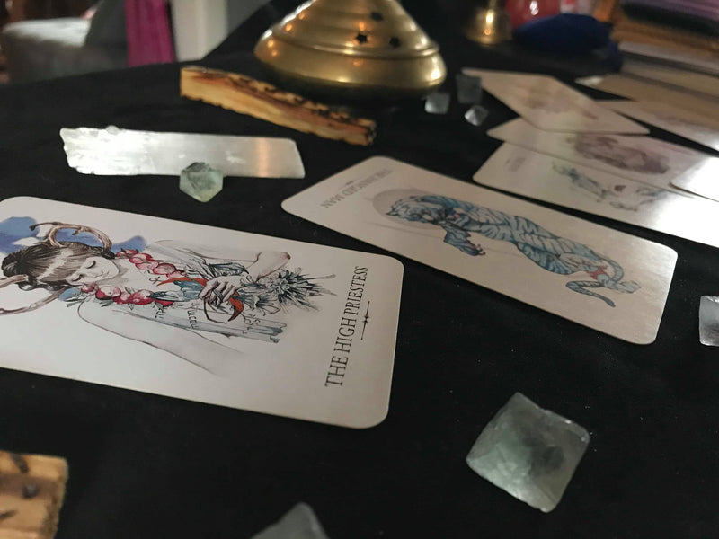 Private Tarot Lessons - with Erika - Keven Craft Rituals