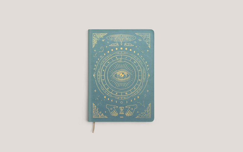 Vegan Leather Pocket Journal (Lined)  - Magic of I