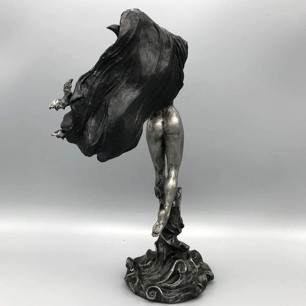 Nyx, the Goddess of the Night - Deity Statue for Altars and Decor - Keven Craft Rituals