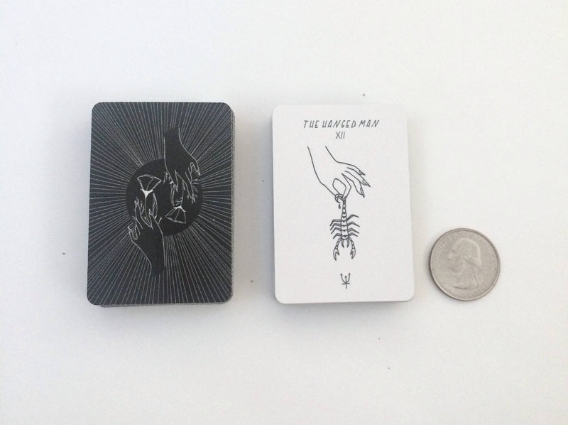Small Mysteries MINI Tarot - Keven Craft Rituals