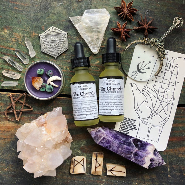 The Channel // Flower & Crystal Essence - Keven Craft Rituals