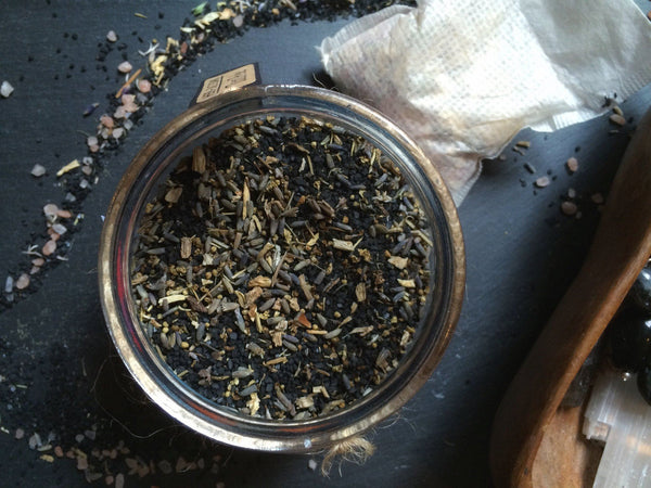 Herb + Salt Soak - Tutu Pele - Keven Craft Rituals