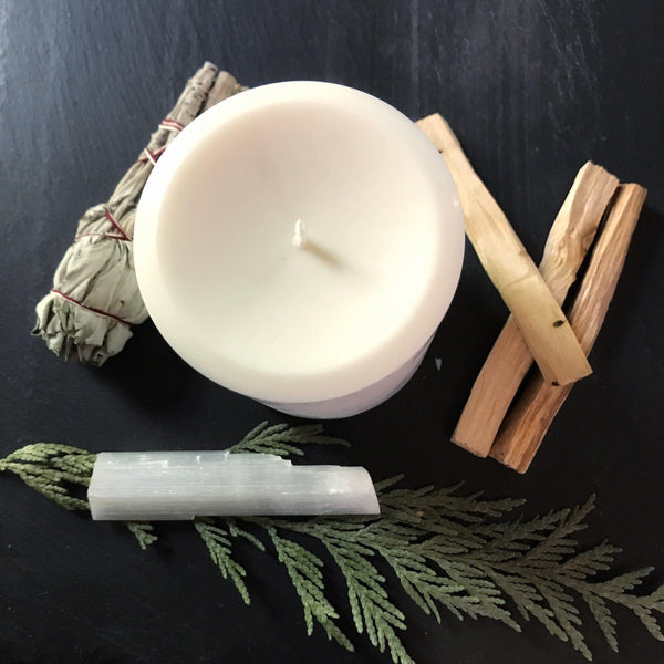 Pillar Candles - Unscented Vegan Soy - Keven Craft Rituals