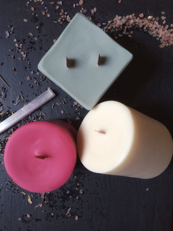 Pillar Candles - Scented Vegan Soy - Keven Craft Rituals