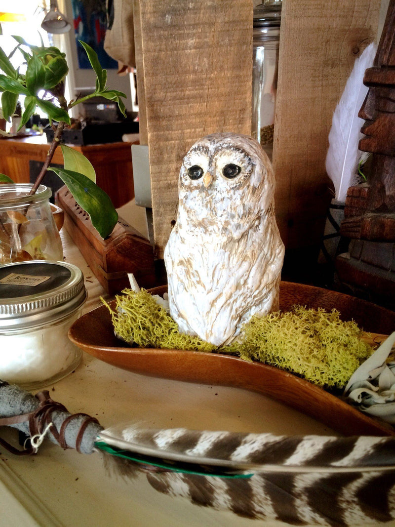 Protection Owl - Figurine - Keven Craft Rituals