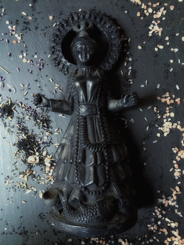 Yemaya Statue - Brazilian : Deity Statue for Altars and Decor - Keven Craft Rituals