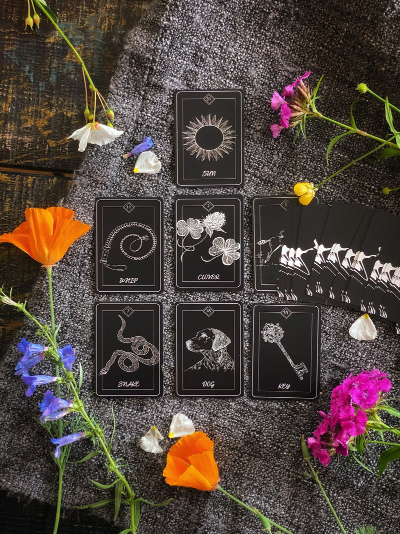 La Muchi Réveuse Lenormand Deck - from Slovenia - Keven Craft Rituals