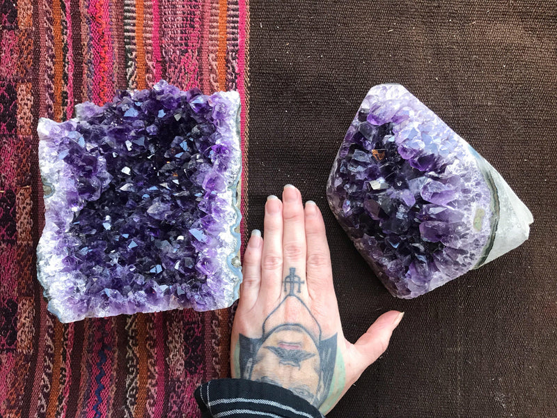 Amethyst - Deep Purple from Uraguay