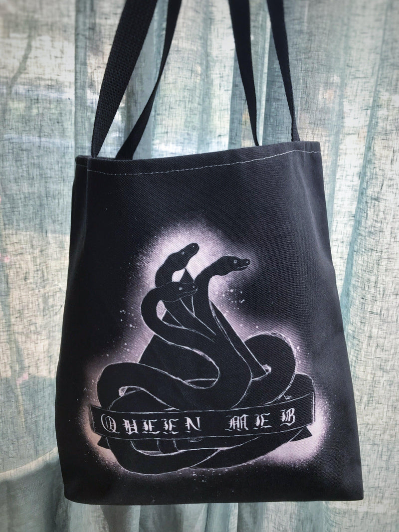 Queen Meb Snake + Pyramid Tote - Keven Craft Rituals