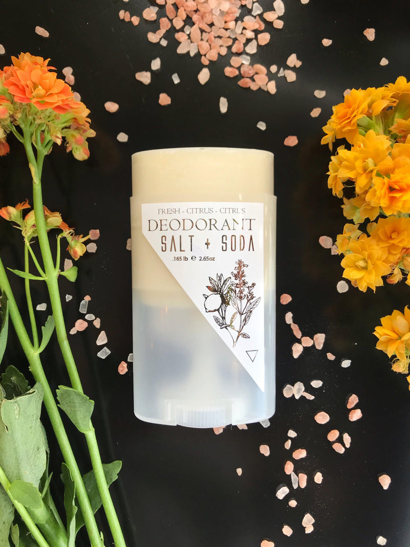 Deodorant - Salt and Soda (Fresh + Citrus + Herbal) - Keven Craft Rituals