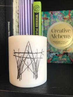 Ritual Art (The House of Twigs) Pillar Candles - Vegan Soy - Keven Craft Rituals