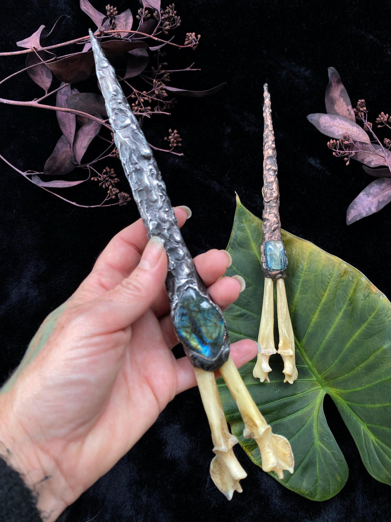 Handmade Ritual Wands and Tools
