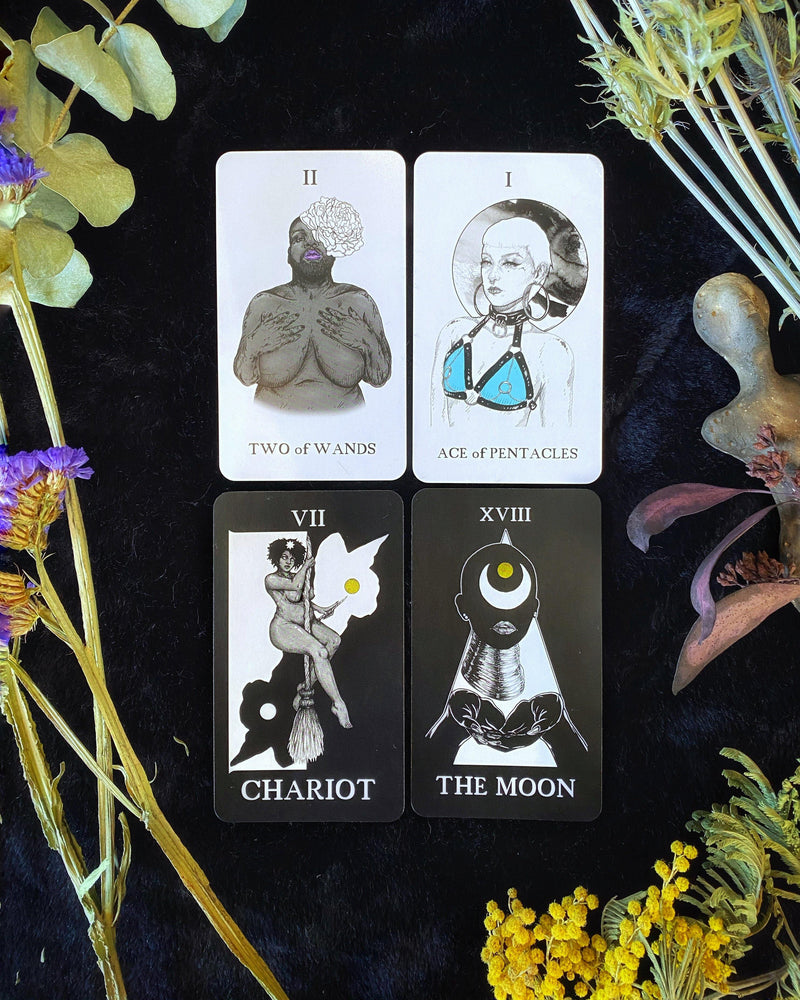 The Astraea Tarot Deck - by The Ink Maiden - Keven Craft Rituals