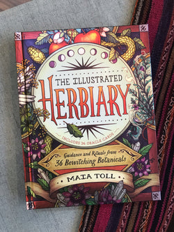 The Illustrated Herbiary: Guidance and Rituals from 36 Bewitching Botanicals - Keven Craft Rituals