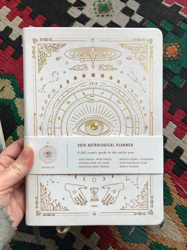 2020 Astrological Planner - Magic of I (White) - Keven Craft Rituals