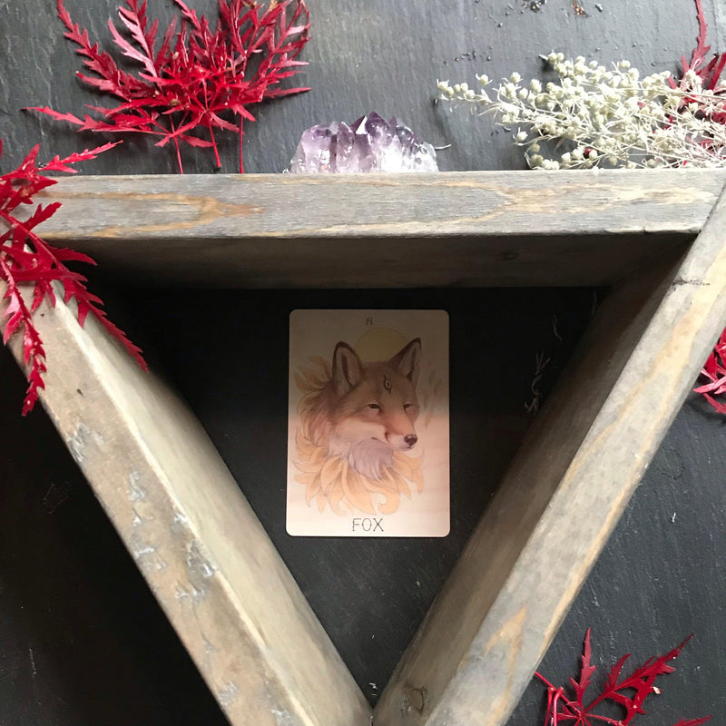 Triangle Altar Shelving - Keven Craft Rituals