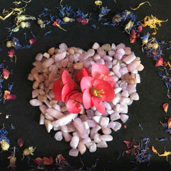 Tumbled Morganite - Keven Craft Rituals