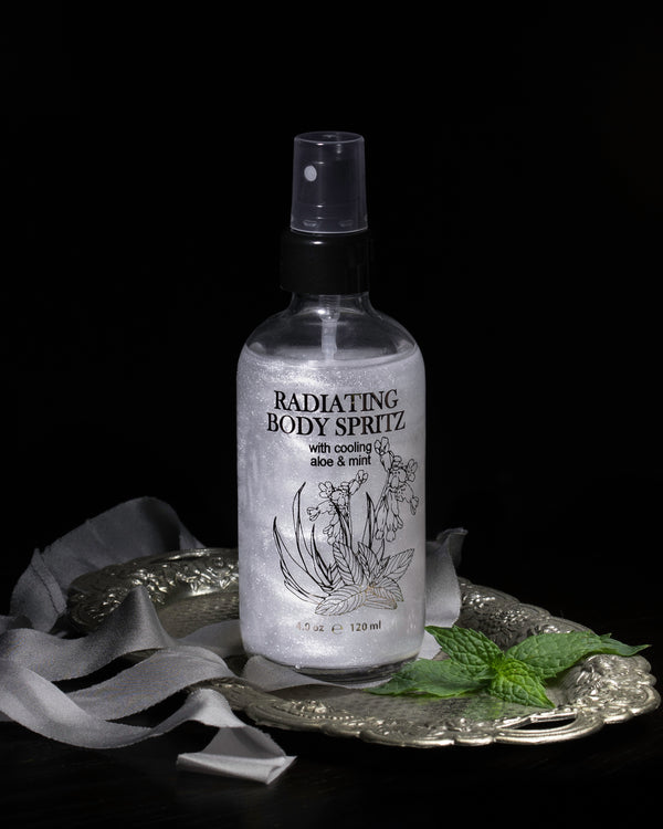 Radiating Body Spritz - With Cooling Aloe and Mint