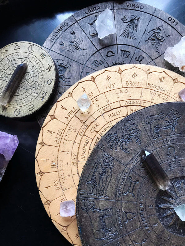 Altar, Pendulum or Crystal Grid Tiles - Keven Craft Rituals