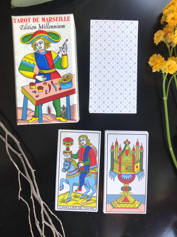 Tarot De Marseille - Wilfred Houdouin in Marseille (Millenium Edition) 18th Century - Marseille Heritage in 2017 - Keven Craft Rituals