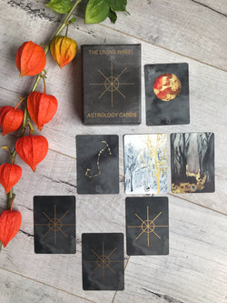 The Living Wheel Astrology Cards - Keven Craft Rituals