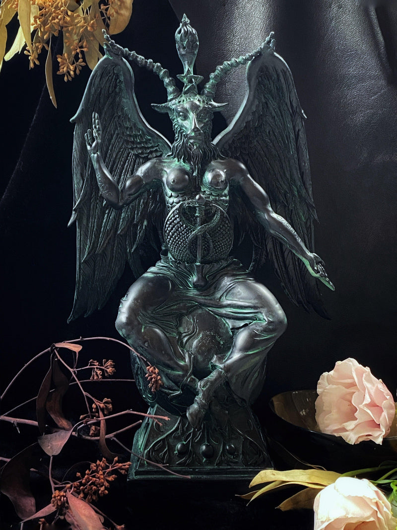 Baphomet, As Above So Below Statue - Deity Statue for Altars and Decor