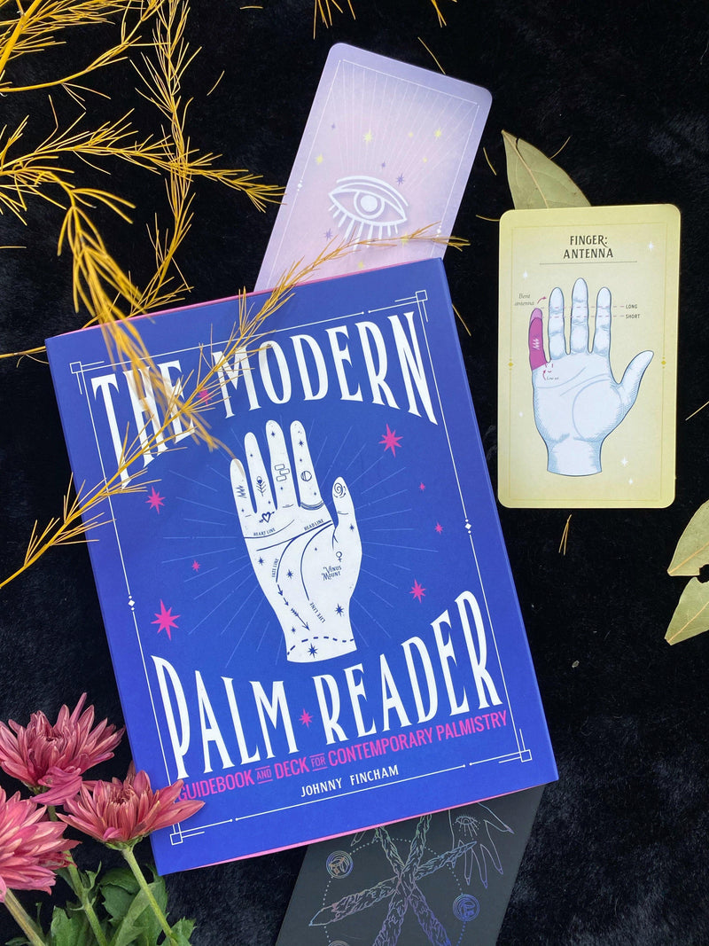 The Modern Palm Reader (Guidebook & Dec Set): Guidebook and Deck for Contemporary Palmistry